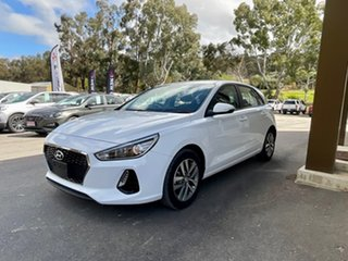 2018 Hyundai i30 PD2 MY19 Active D-CT White 7 Speed Sports Automatic Dual Clutch Hatchback