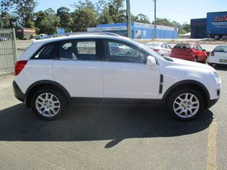 2013 Holden Captiva CG MY13 5 LT (FWD) White 6 Speed Manual Wagon.