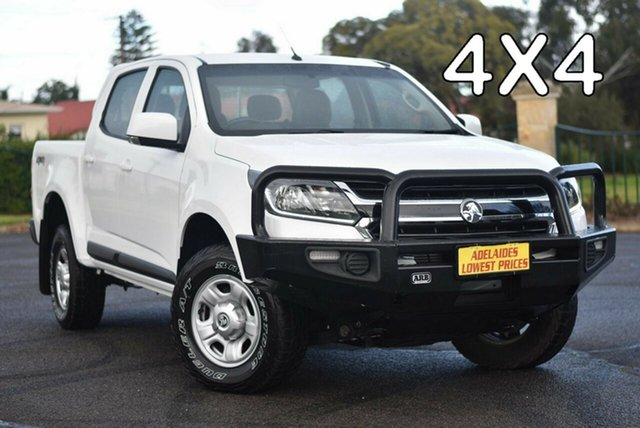 Used Holden Colorado RG MY20 LS Pickup Crew Cab Strathalbyn, 2019 Holden Colorado RG MY20 LS Pickup Crew Cab White 6 Speed Sports Automatic Utility