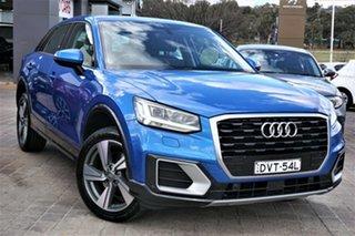 2018 Audi Q2 GA MY19 40 TFSI S Tronic Quattro Sport Blue 7 Speed Sports Automatic Dual Clutch Wagon.