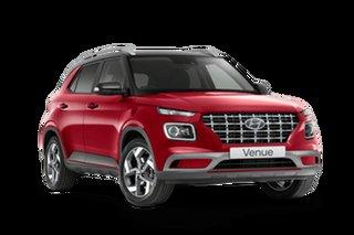 2021 Hyundai Venue QX.V3 Elite Fiery Red 6 Speed Automatic Wagon