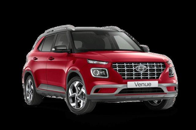 New Hyundai Venue Elite Rutherford, 2021 Hyundai Venue QX.V3 Elite Fiery Red 6 Speed Automatic Wagon