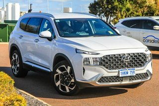 2020 Hyundai Santa Fe Tm.v3 MY21 Elite DCT Glacier White 8 Speed Sports Automatic Dual Clutch Wagon.