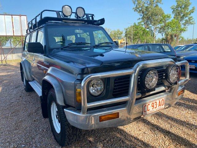 Used Nissan Patrol GQ ST Pinelands, 1991 Nissan Patrol GQ ST Blue 4 Speed Automatic Wagon