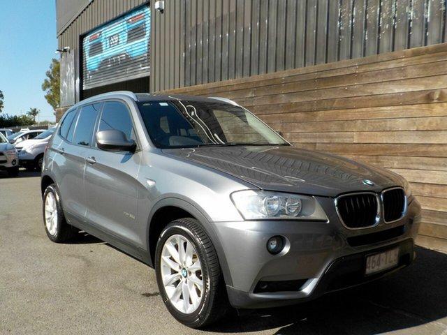 Used BMW X3 F25 MY0413 xDrive20d Steptronic Labrador, 2013 BMW X3 F25 MY0413 xDrive20d Steptronic Grey 8 Speed Automatic Wagon