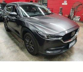 2017 Mazda CX-5 KE1032 Akera SKYACTIV-Drive i-ACTIV AWD Grey 6 Speed Sports Automatic Wagon.