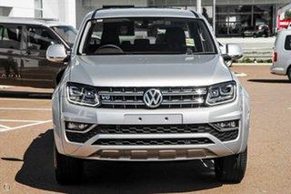 2021 Volkswagen Amarok 2H MY21 TDI580 4MOTION Perm Highline Silver 8 Speed Automatic Utility.