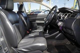 2010 Nissan Tiida C11 MY07 TI Slate Grey 4 Speed Automatic Sedan