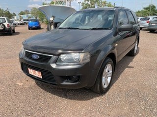 2010 Ford Territory TX Grey 4 Speed Auto Active Select Wagon.