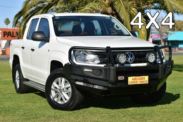 Used Volkswagen Amarok 2H MY17 TDI420 4MOTION Perm Core Melrose Park, 2016 Volkswagen Amarok 2H MY17 TDI420 4MOTION Perm Core White 8 Speed Automatic Utility
