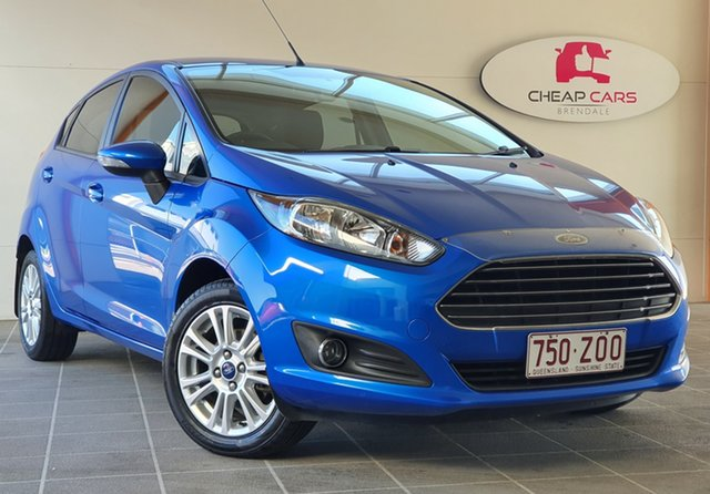 Used Ford Fiesta WZ MY15 Trend PwrShift Brendale, 2015 Ford Fiesta WZ MY15 Trend PwrShift Blue 6 Speed Sports Automatic Dual Clutch Hatchback