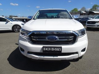 2020 Ford Ranger PX MkIII 2021.25MY XLT Double Cab Arctic White 6 Speed Automatic Double Cab Chassis