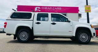 2009 Holden Colorado RC MY09 LX Crew Cab White 4 Speed Automatic Utility.