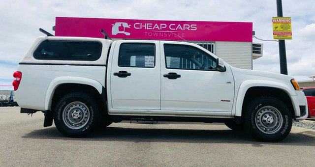 Used Holden Colorado RC MY09 LX Crew Cab Garbutt, 2009 Holden Colorado RC MY09 LX Crew Cab White 4 Speed Automatic Utility