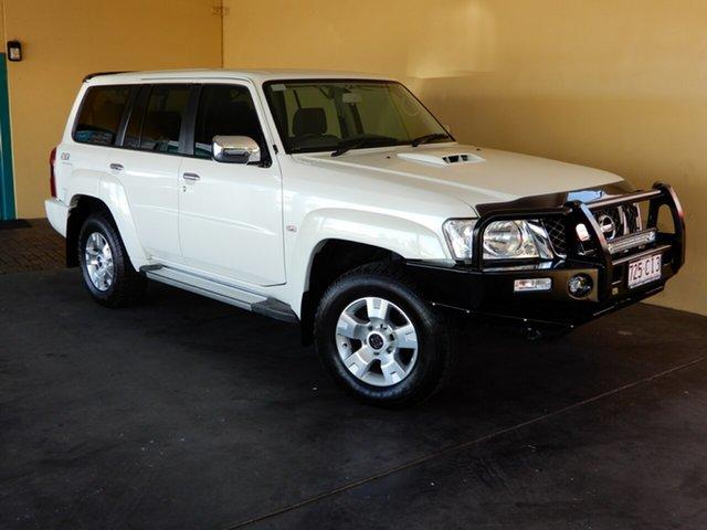 Used Nissan Patrol GU Series 9 ST (4x4) Toowoomba, 2013 Nissan Patrol GU Series 9 ST (4x4) White 4 Speed Automatic Wagon
