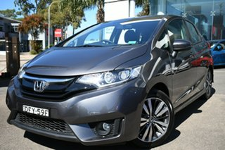2016 Honda Jazz GK MY16 VTi-S Grey Continuous Variable Hatchback.