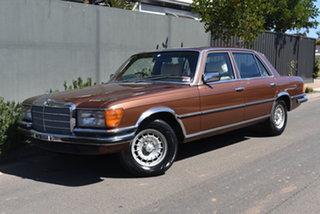 1978 Mercedes-Benz 450SEL W116 Bronze 3 Speed Automatic Sedan.