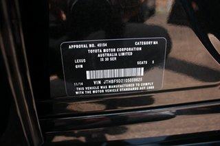 2014 Lexus IS250 GSE30R IS250 F Sport Starlight Black 6 Speed Automatic Sedan