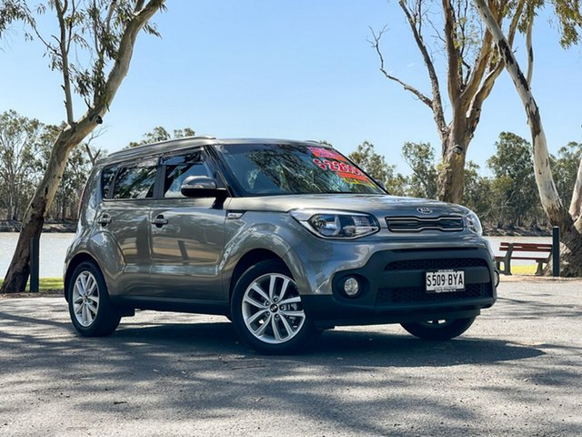 Used Kia Soul PS MY18 SI Loxton, 2018 Kia Soul PS MY18 SI Silver 6 Speed Automatic Hatchback