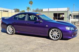 2004 Ford Falcon BA XR8 Purple 4 Speed Sports Automatic Sedan.