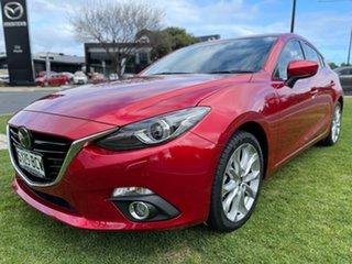 2014 Mazda 3 BM5436 SP25 SKYACTIV-MT Astina Red 6 Speed Manual Hatchback.
