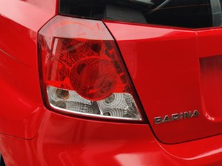 2007 Holden Barina TK MY07 Chilli Red 4 Speed Automatic Hatchback