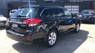 2012 Subaru Outback MY12 3.6R Premium Black 5 Speed Auto Elec Sportshift Wagon.