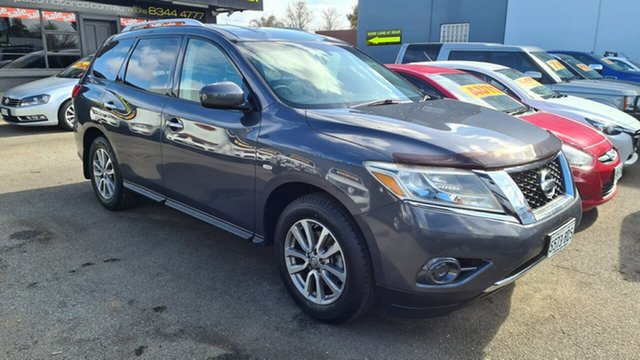 Used Nissan Pathfinder R52 ST (4x2) Prospect, 2013 Nissan Pathfinder R52 ST (4x2) Blue Continuous Variable Wagon