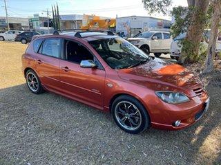 2005 Mazda 3 BK1031 SP23 Gold 5 Speed Manual Hatchback