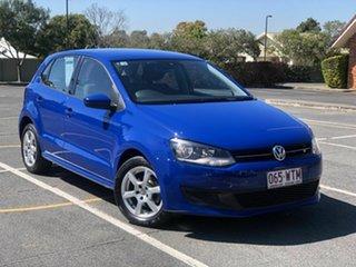 2012 Volkswagen Polo 6R MY12.5 77TSI DSG Comfortline Blue 7 Speed Sports Automatic Dual Clutch.
