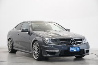 2011 Mercedes-Benz C-Class C204 MY12 C63 AMG SPEEDSHIFT MCT Grey 7 Speed Sports Automatic Coupe