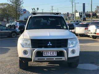 2007 Mitsubishi Pajero NS R White 5 Speed Sports Automatic Hardtop.