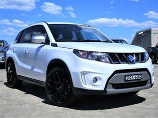 2016 Suzuki Vitara LY S Turbo 4WD White 6 Speed Sports Automatic Wagon.