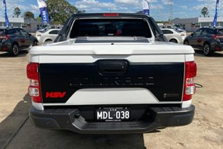 2019 Holden Special Vehicles Colorado RG MY20 SportsCat Pickup Crew Cab SV White 6 Speed.