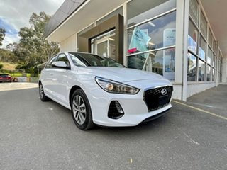 2018 Hyundai i30 PD2 MY19 Active D-CT White 7 Speed Sports Automatic Dual Clutch Hatchback.