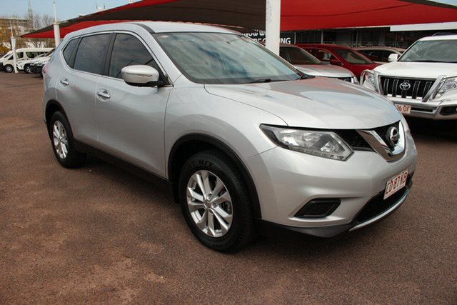 Pre-Owned Nissan X-Trail T32 ST X-tronic 2WD Darwin, 2015 Nissan X-Trail T32 ST X-tronic 2WD Premium Silver 7 Speed Continuous Variable Wagon