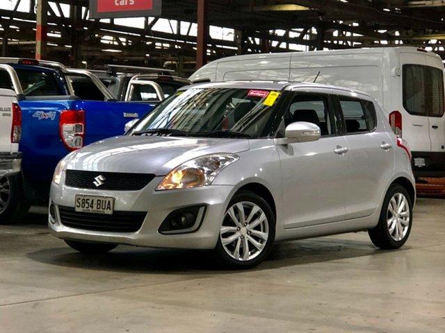 Used Suzuki Swift FZ MY15 GL Navigator Mile End South, 2016 Suzuki Swift FZ MY15 GL Navigator Silver 4 Speed Automatic Hatchback