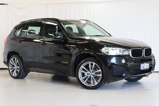 Used BMW X5 F15 sDrive25d Wangara, 2015 BMW X5 F15 sDrive25d Black 8 Speed Automatic Wagon