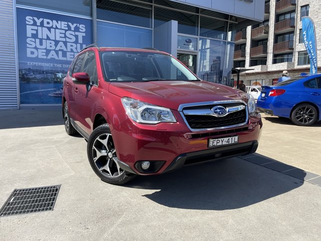 Used Subaru Forester MY14 2.5I-S Rosebery, 2014 Subaru Forester MY14 2.5I-S Red Continuous Variable Wagon