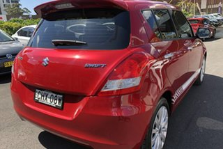 2013 Suzuki Swift FZ RE.2 Red 4 Speed Automatic Hatchback
