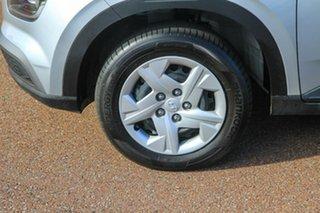 2020 Hyundai Venue QX MY20 Go Typhoom Silver/black 6 Speed Manual Wagon