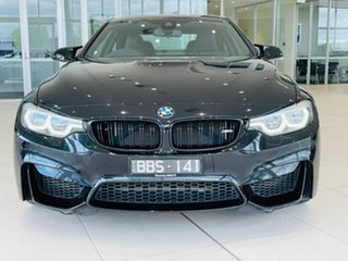2017 BMW M4 F82 Competition M-DCT Black 7 Speed Sports Automatic Dual Clutch Coupe