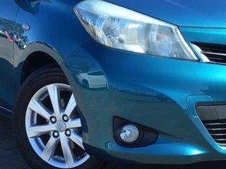 2012 Toyota Yaris NCP131R YRX Blue 4 Speed Automatic Hatchback.