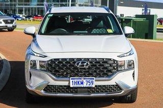 2020 Hyundai Santa Fe Tm.v3 MY21 Elite DCT Glacier White 8 Speed Sports Automatic Dual Clutch Wagon