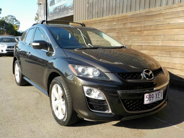 Used Mazda CX-7 ER1032 Luxury Activematic Sports Labrador, 2010 Mazda CX-7 ER1032 Luxury Activematic Sports Black 6 Speed Sports Automatic Wagon