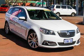 2013 Holden Calais VF MY14 V Sportwagon White 6 Speed Sports Automatic Wagon.