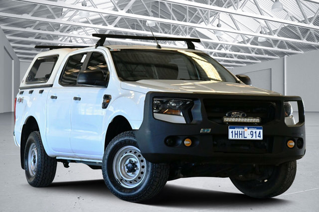 Used Ford Ranger PX MkII XL 3.2 (4x4) Perth Airport, 2016 Ford Ranger PX MkII XL 3.2 (4x4) Cool White 6 Speed Automatic Crew Cab Utility