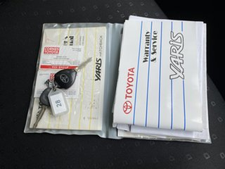 2006 Toyota Yaris NCP90R YR Cherry 4 Speed Automatic Hatchback