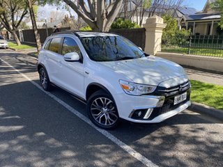 2018 Mitsubishi ASX XC MY18 LS 2WD White 1 Speed Constant Variable Wagon.