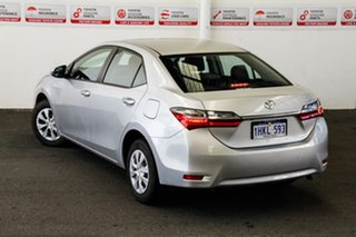 2018 Toyota Corolla ZRE172R MY17 Ascent Silver Ash 7 Speed CVT Auto Sequential Sedan